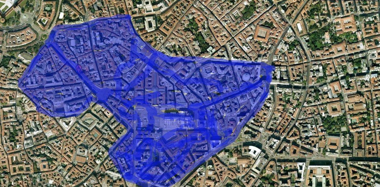 Milan cuenta con una de las más amplia zona peatonales de Europa