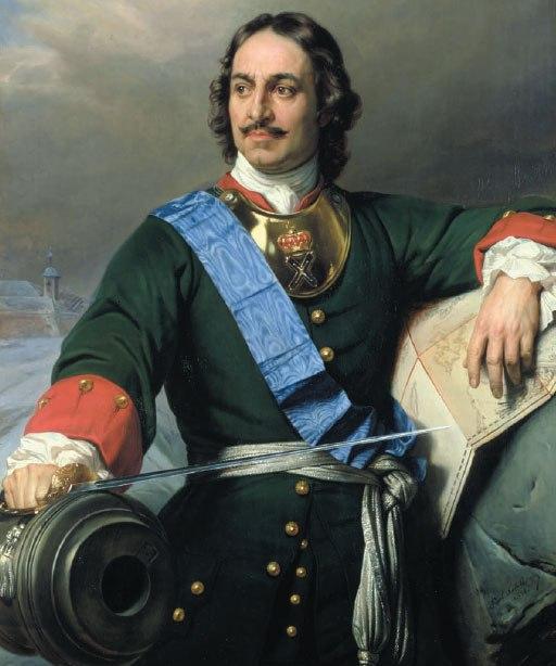 El Zar Pedro el Grande, tenia una voluntad de hierro en construir una ciudad fantastica donde no habia nada.