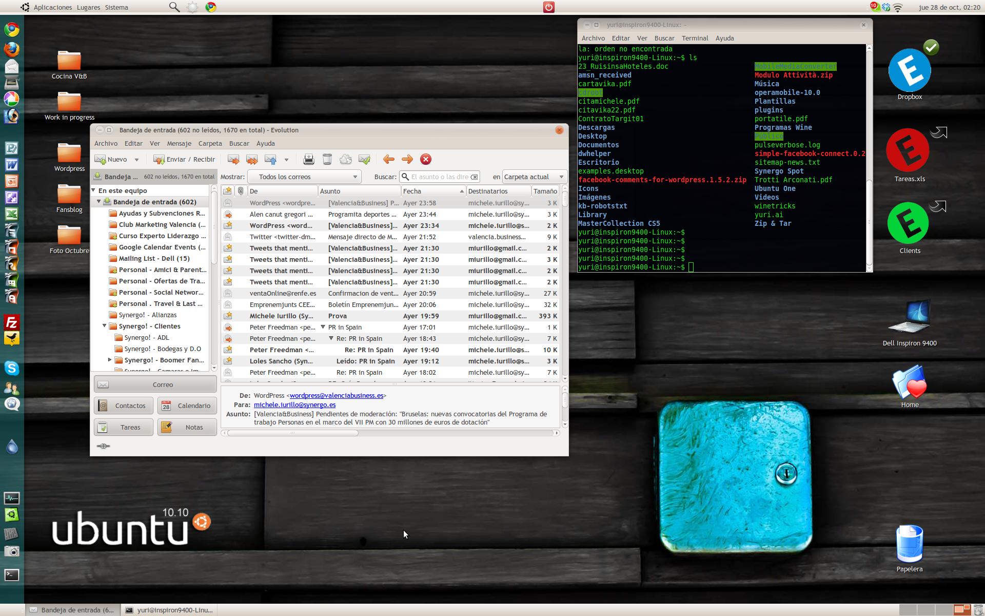 Ya me he pasado a Ubuntu 10.10