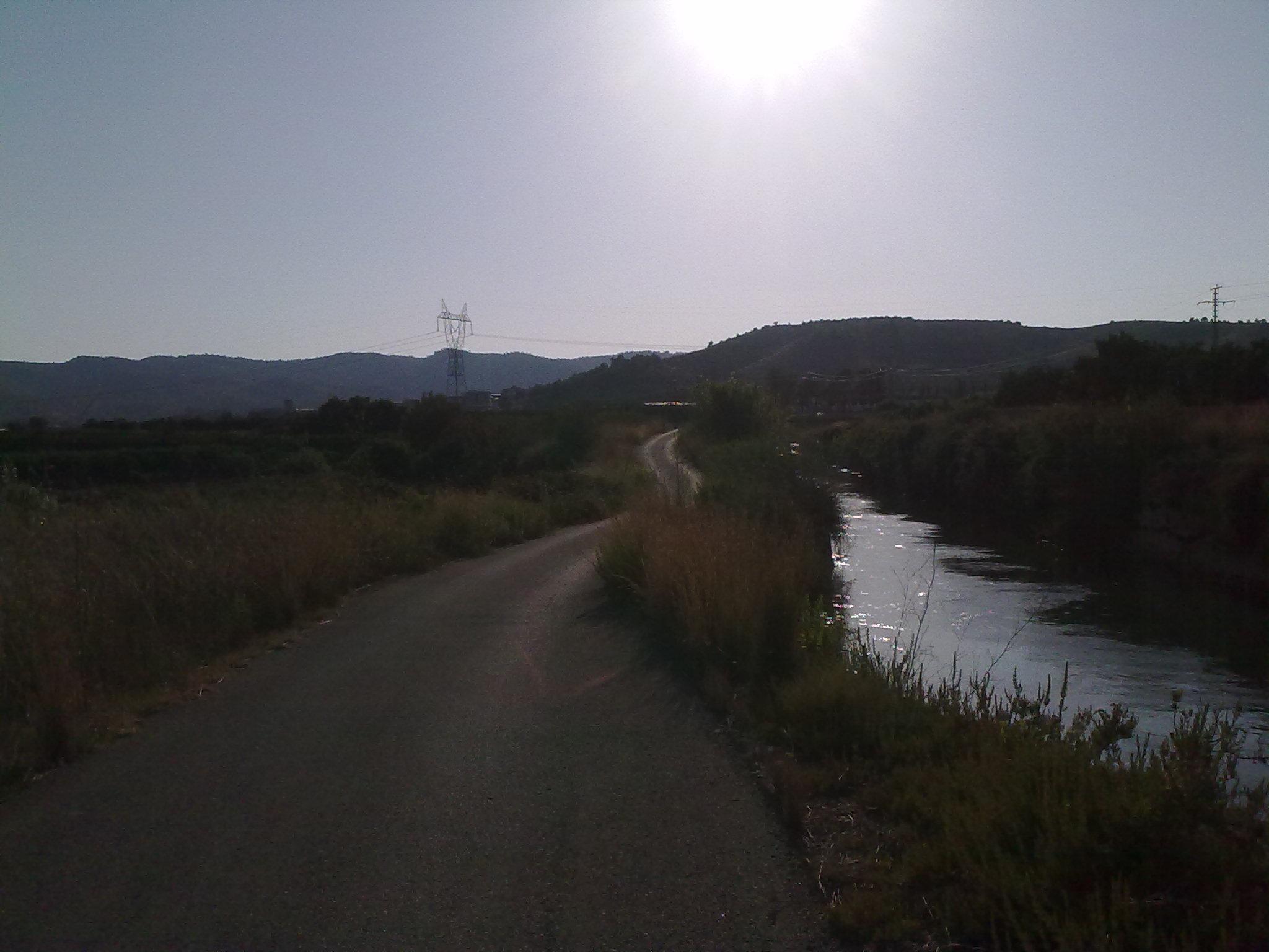 Bike: Primera salida despues de Vacaciones… Alberic-Antella-Sumacarcer-Carcer-Alcantara-Alberic