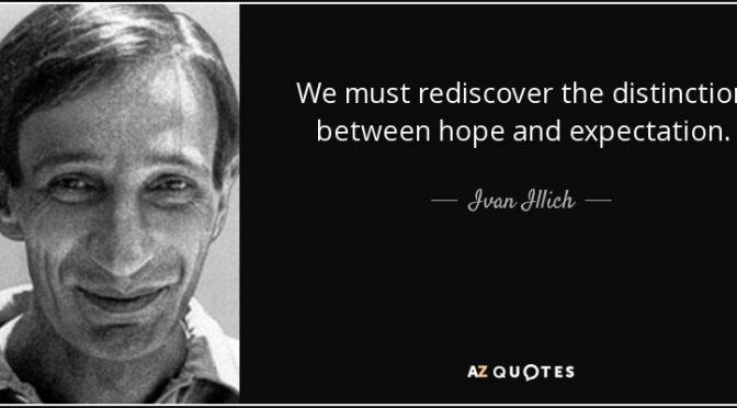 Redes Sociales y crisis según Ivan Illich el gran precursor